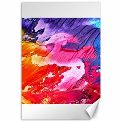 Abstract Art Background Paint Canvas 24  X 36
