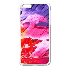 Abstract Art Background Paint Apple Iphone 6 Plus/6s Plus Enamel White Case by Nexatart