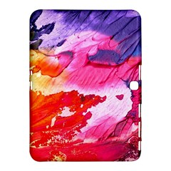 Abstract Art Background Paint Samsung Galaxy Tab 4 (10 1 ) Hardshell Case  by Nexatart
