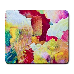 Art Detail Abstract Painting Wax Large Mousepads