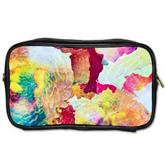 Art Detail Abstract Painting Wax Toiletries Bags