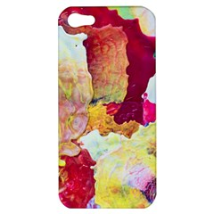 Art Detail Abstract Painting Wax Apple Iphone 5 Hardshell Case