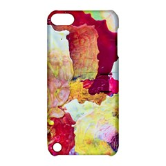 Art Detail Abstract Painting Wax Apple Ipod Touch 5 Hardshell Case With Stand by Nexatart