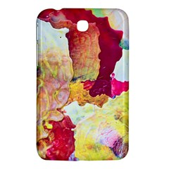 Art Detail Abstract Painting Wax Samsung Galaxy Tab 3 (7 ) P3200 Hardshell Case  by Nexatart