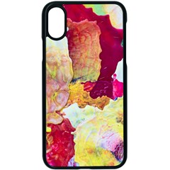 Art Detail Abstract Painting Wax Apple Iphone X Seamless Case (black)