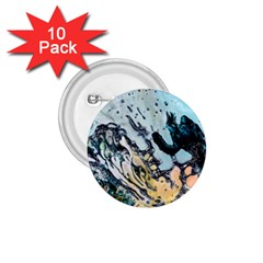 Abstract Structure Background Wax 1 75  Buttons (10 Pack)