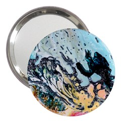 Abstract Structure Background Wax 3  Handbag Mirrors by Nexatart