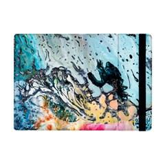 Abstract Structure Background Wax Apple Ipad Mini Flip Case