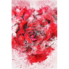 Flower Roses Heart Art Abstract 5 5  X 8 5  Notebooks by Nexatart