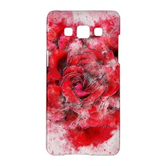 Flower Roses Heart Art Abstract Samsung Galaxy A5 Hardshell Case