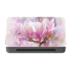 Flowers Magnolia Art Abstract Memory Card Reader With Cf by Nexatart