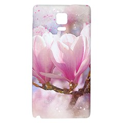 Flowers Magnolia Art Abstract Galaxy Note 4 Back Case