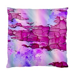 Background Crack Art Abstract Standard Cushion Case (two Sides) by Nexatart