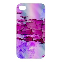 Background Crack Art Abstract Apple Iphone 4/4s Premium Hardshell Case