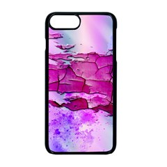 Background Crack Art Abstract Apple Iphone 8 Plus Seamless Case (black)