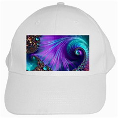 Abstract Fractal Fractal Structures White Cap by Nexatart