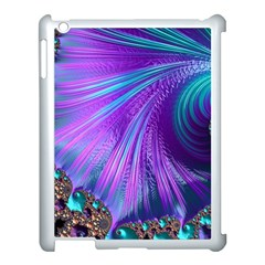 Abstract Fractal Fractal Structures Apple Ipad 3/4 Case (white) by Nexatart