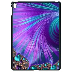Abstract Fractal Fractal Structures Apple Ipad Pro 9 7   Black Seamless Case