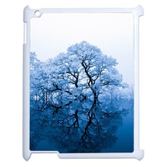 Nature Inspiration Trees Blue Apple Ipad 2 Case (white) by Nexatart