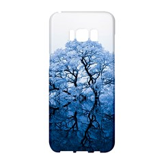 Nature Inspiration Trees Blue Samsung Galaxy S8 Hardshell Case