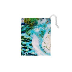 Abstract Art Modern Detail Macro Drawstring Pouches (xs)  by Nexatart