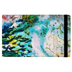 Abstract Art Modern Detail Macro Apple Ipad Pro 9 7   Flip Case by Nexatart