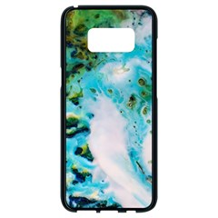 Abstract Art Modern Detail Macro Samsung Galaxy S8 Black Seamless Case by Nexatart