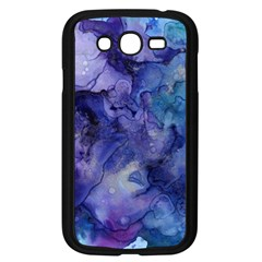 Ink Background Swirl Blue Purple Samsung Galaxy Grand Duos I9082 Case (black) by Nexatart
