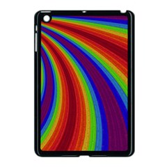 Abstract Pattern Lines Wave Apple Ipad Mini Case (black) by Nexatart