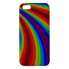 Abstract Pattern Lines Wave Iphone 5s/ Se Premium Hardshell Case