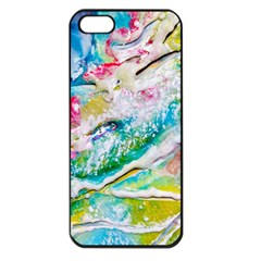 Art Abstract Abstract Art Apple Iphone 5 Seamless Case (black)