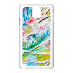 Art Abstract Abstract Art Samsung Galaxy Note 3 N9005 Case (white)