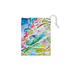 Art Abstract Abstract Art Drawstring Pouches (xs)