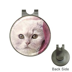 Cat Pet Cute Art Abstract Vintage Hat Clips With Golf Markers