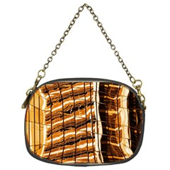Abstract Architecture Background Chain Purses (two Sides)