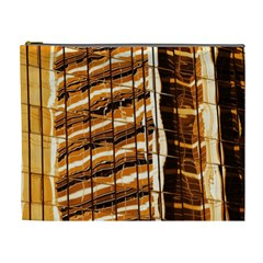 Abstract Architecture Background Cosmetic Bag (xl)