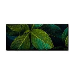 Green Plant Leaf Foliage Nature Cosmetic Storage Cases by Nexatart