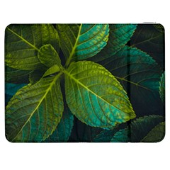 Green Plant Leaf Foliage Nature Samsung Galaxy Tab 7  P1000 Flip Case by Nexatart