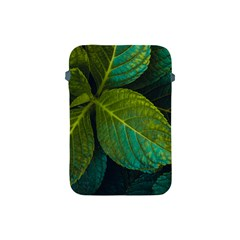 Green Plant Leaf Foliage Nature Apple Ipad Mini Protective Soft Cases by Nexatart
