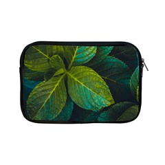 Green Plant Leaf Foliage Nature Apple Ipad Mini Zipper Cases by Nexatart
