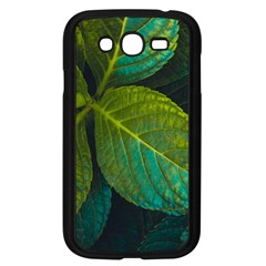 Green Plant Leaf Foliage Nature Samsung Galaxy Grand Duos I9082 Case (black) by Nexatart