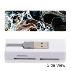 Abstract Flow River Black Memory Card Reader (stick)