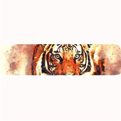 Tiger Portrait Art Abstract Large Bar Mats