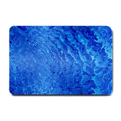 Background Art Abstract Watercolor Small Doormat