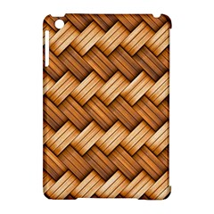 Basket Fibers Basket Texture Braid Apple Ipad Mini Hardshell Case (compatible With Smart Cover) by Nexatart