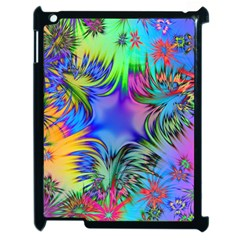 Star Abstract Colorful Fireworks Apple Ipad 2 Case (black)