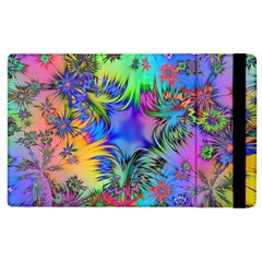 Star Abstract Colorful Fireworks Apple Ipad 3/4 Flip Case
