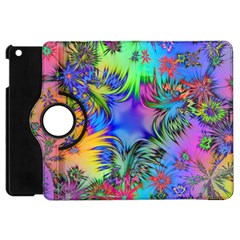 Star Abstract Colorful Fireworks Apple Ipad Mini Flip 360 Case