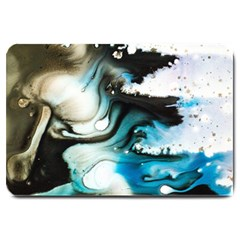 Abstract Painting Background Modern Large Doormat
