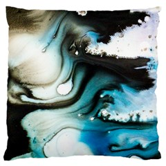 Abstract Painting Background Modern Large Cushion Case (one Side)